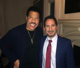 ``From one entertainer to another, you did a masterful job!`` - Lionel Richie